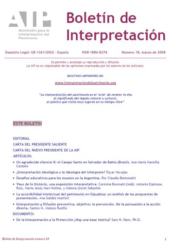 Boletín interpretación 18